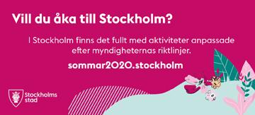 Stockholm i sommar